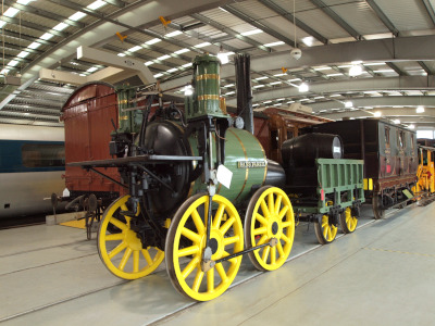 Sans Pareil is a steam locomotive built by Timothy Hackworth